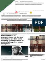 Milton Friedman Su Arrepentimiento y La Doctrina Monetarista Que Dejo Como Evangelio Fundamentalista en América Latina y Otros Países Emergentes _ Zacatecas 3