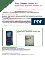 Whatsapp en El Ordenador SDK Emulador Android Basic4Android - IES Fco. Romero Vargas - Jerez de l