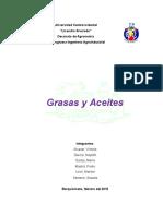 Informe Practica Grasas y Aceites