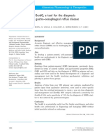 Development of the GerdQ, A Tool for the Diagnosis