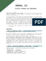Resumen Penal II