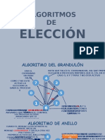 Algoritmos de Eleccion