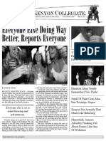 The Kenyon Collegiate - Alumni Issue Vol 5