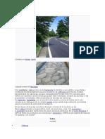 Carreteras Definiciones