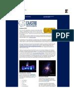 Caastro Newsletter 20111011