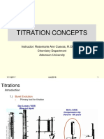Introduction Titration