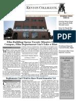 Kenyon Collegiate - Issue 9.4