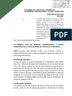 Agotamiento de La Vía Administrativa Como Requisito Perverso - Casación 18013-2015 Sullana