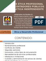 Apartado B Código de Ética Profesional CP