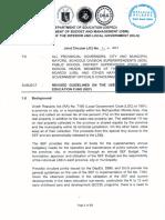 Joint Circular No. 1 (Dbm-Deped-dilg)