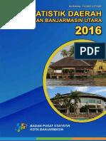 Statistik Daerah Kecamatan Banjarmasin Utara 2016 (4)