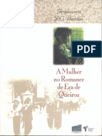 DANTAS, Francisco - A Mulher No Romance de Eça de Queiroz
