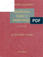 Medicina Legal y Toxicologia