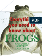 Dk Everything You Need to Know About Frogs and Other Slippery Creatures