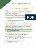 Guia Aprendizaje Factorizacion Wygm