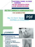 Retratamiento en Endodoncia
