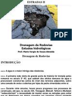 Aula 03 Drenagem de Rodovias Estudos Hidrológicos
