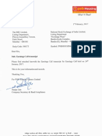 Earnings Call transcript [Company Update]