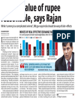 Current Value of Rupee Reasonable, Says Rajan - Copy