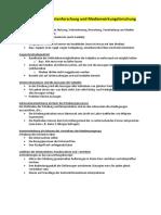 Qualitative Rezipienten- und Medienwirkungsforschung - Medienaneignung etc.