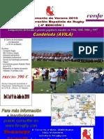 CAMPAMENTO DE VERANO RUGBY CANDELEDA 2010