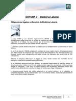 Lectura 7 - Medicina Laboral