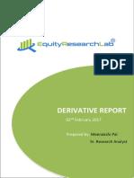 02-Feb-2017 Equity Research LabDERIVATIVE REPORT
