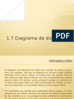1.7 Diagrama de Dispersión