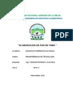 Elaboracion de Pan de Yema