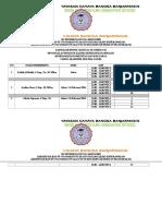Jadwal Responsi Clinical Theacer Komunitas
