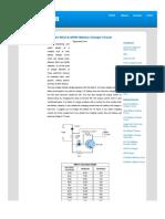 NiCd & NiMH Battery Charger Circuit _ Circuit Diagram