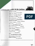Paz-Poema-Cuento de Dos Jardines