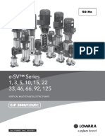 Technical Catalogue ESV 50Hz