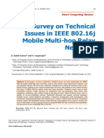 A Survey on Technical Issues in IEEE 802.16j Mobile Multi-hop Relay Networks
