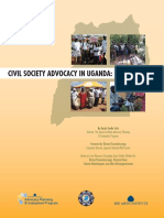 Civil Society Advocacy in Uganda