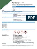safety data sheet for butadiene