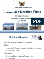 Indonesia's Maritime Plans (2015 Presentation)