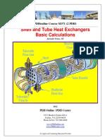 Shell and Tube HX Basic Calculation