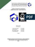 Laporan Robotika Humanoid Robosapiens V2 - Reza Maliki Akbar - Teknik Otomasi Manufaktur dan Mekatronika Politeknik Manufaktur Negeri Bandung