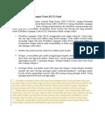 Aturan Klasifikasi Lapangan Usaha