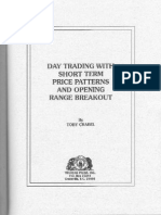 Toby Crabel Day Trading With Short Term Price Patterns and Opening Range Breakout