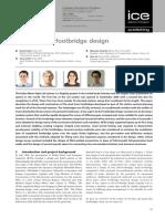 Dubai Metro Footbridge Design