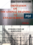 Veryy Little 400kv Substation Training Report