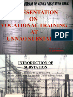 Veryy Little 400kv Substation Training Report
