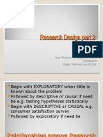 Research Design part 2