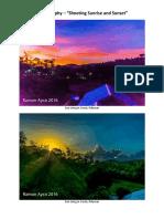 """#Photography - """"Shooting Sunrise & Sunset"""""""