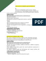 courses description