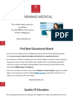 Marianas Medical_MBBS in Abroad