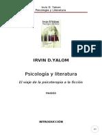 Yalom Irvin D - Psicologia Y Literatura 2