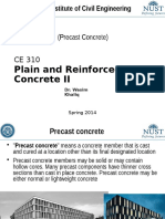 CE 310 Lec 9 - Precast Concrete Construction
